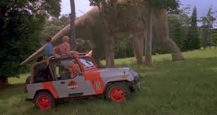 jurassic world jeep on screen cars