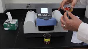 how to use a spectrophotometer spectronic 200e youtube