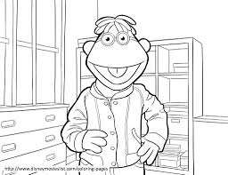 the muppets coloring pages