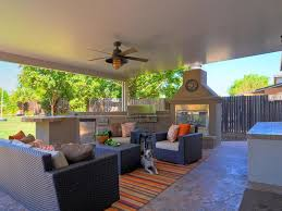 exterior exotic covered outdoor sitting room decor using brown