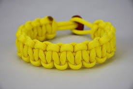 yellow bracelet images Neon yellow paracord bracelet jpg