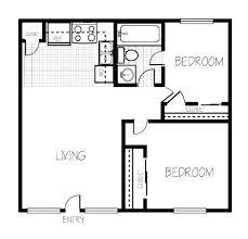 2 bedroom cottage floor plans floor plan 2 bedroom plan ranch style small house plan 2 bedroom