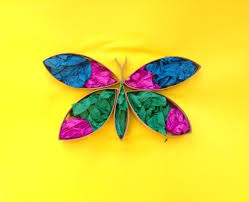 cardboard 3d butterfly picture my kid craft