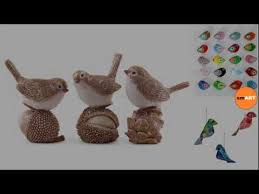 silver ornaments bird ornaments