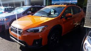 subaru orange 2018 subaru crosstrek limited orange youtube