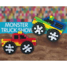 show monster trucks monster truck show perler beads