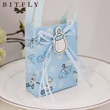 christening party favors 12pcs baby shower paper candy box gift bag christening decoration