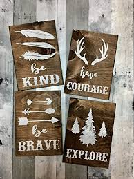 decor signs rustic nursery décor woodland theme nursery nursery