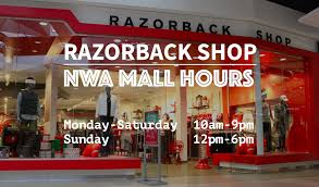 promenade mall black friday hours razorback shop at promenade mall u of a bookstore