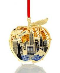 new york city skyline landmarks ornament chrysler