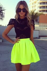 best 25 neon yellow skirts ideas on pinterest neon maxi dresses