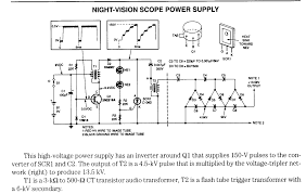 regulated power supply electronic circuits 5kv schematic wiring