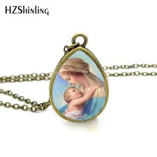 s day jewelry 2017 new blessed necklace of baby tear drop