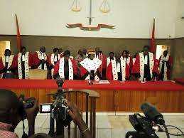 chambre d appel haute cour de justice les membres de la chambre d appel installés