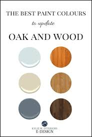 what paint colors look best with maple cabinets the 16 best paint colours to go with oak or wood trim