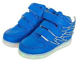 led light up shoes gianna light blue led light up shoes with wings price from jumia in