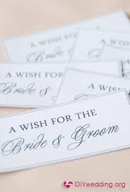 Wedding Wish Tags Bride And Groom Wish Tag Template