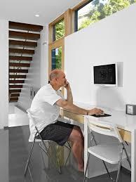 Modern Home Design Edmonton Lg House Interior Workstation Modern Home Office U0026 Library