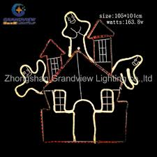 Led Rope Light Christmas Decorations by Led Halloween Lights With Christmas Garland Ornament Pumpkin Led