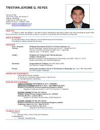 Sample Resume For Ojt Architecture by Sample Resume For College Ojt Resume Ixiplay Free Resume Samples