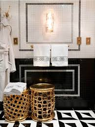 Red And Black Bathroom Accessories by Black White Gold Bathrooms Pinterest Black White Gold
