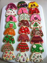 sweater cookies tacky sweaters decorated sugar cookies by i am the