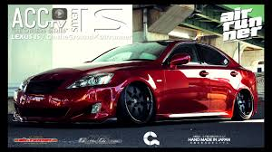2012 lexus is 250 custom acctv red vip gang is250 og airrunner エアサス youtube