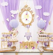 purple baby shower ideas kara s party ideas purple gold hot air balloon baby shower