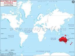 australia world map location where is oceania oceania location in world map