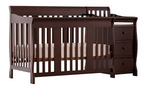 Baby Cribs 4 In 1 Convertible Stork Craft Portofino 4 In 1 Fixed Side Convertible Crib Changer