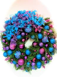 purple turquoise wreath pictures photos and images for