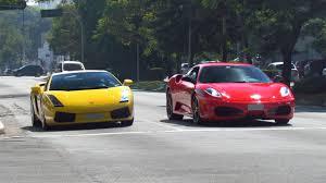 f430 vs lamborghini gallardo lamborghini gallardo f430 acelerando tudo
