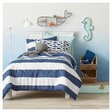 Pink Striped Comforter Rugby Stripe Comforter Set Pillowfort Target