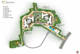 The O2 Floor Plan by Prestige Valley Crest Prestige Estates Projects Ltd At Bejai