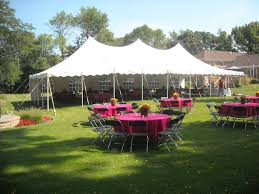 backyard tent rental schaumburg illinois backyard party tents rent backyard party