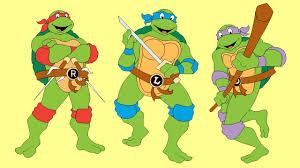 draw ninja turtles characters raphael leonardo