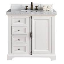 Marble Bathroom Vanity Tops by James Martin Signature Vanities Providence 36 In W Single Vanity