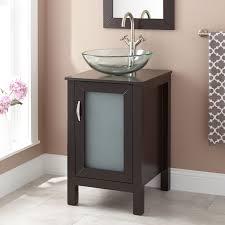 Claxton Vessel Sink Vanity Espresso Bathroom - Bathroom vanity for vessel sink