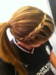 Cute Sporty Hairstyles 7 Best Soccer Hair Images On Pinterest Hairstyles Make Up And