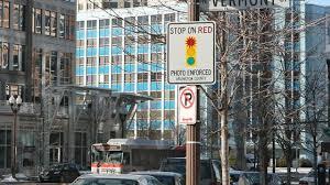 fairfax city red light ticket cameras reduce red light running