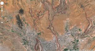 Google Map Utah by Nh Notes Ancient Lava Flows And Inverted Valleys In Utah