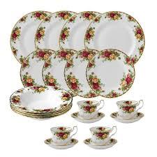 country roses tea set royal albert country roses bone china 20 dinnerware set