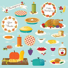 thanksgiving emojis vector thanksgiving food stock vector art 484654292 istock