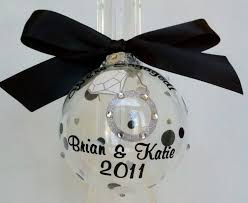adorable image of clear baubles black bow ribbon engagement ring