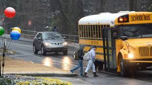 North Dakota travel by bus images States use cameras to crack down on school bus scofflaws jpg