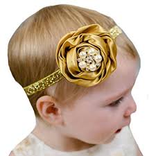 gold headbands miugle baby girl gold headbands with bows clothing