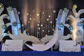 theme wedding decorations celestial moon theme wedding stage decoration ideas post series