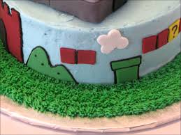 nintendo u0027s super mario brothers birthday cake youtube