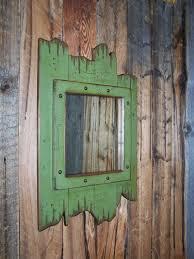 Wood Framed Bathroom Vanity Mirrors by Best 20 Rustic Mirrors Ideas On Pinterest Farm Mirrors