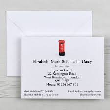 Change Of Address Letter Business by Illustrated Change Of Address Cards With Gift Box By Honey Tree